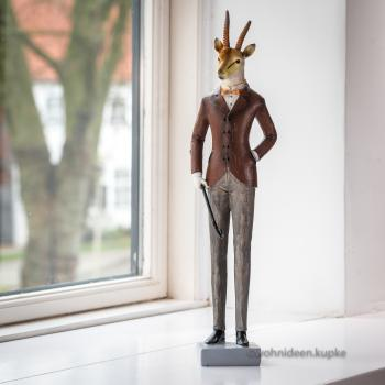 "Figur ""Mr.Thomsen"" Antilope (39 cm)"